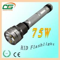 Buy cheap GT-02 long light distance rechargeable HID flashlight from wholesalers