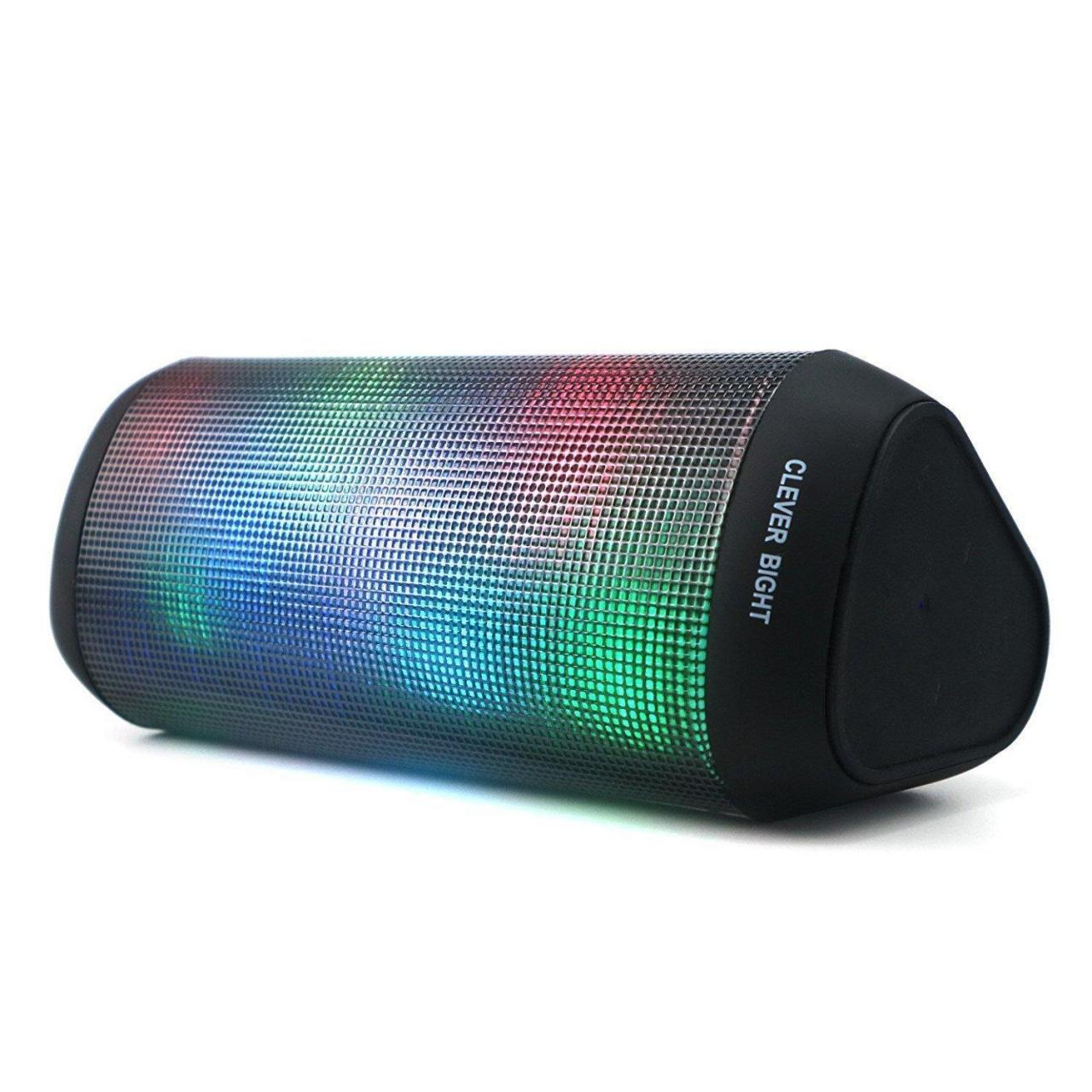 Buy cheap Bluetooth Speakers,Portable LED Colorful Wireless Bluetooth Speaker LED Light from wholesalers