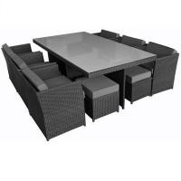 Buy cheap Fashion hot sale rattan outdoor dining table and chairs furniture OMR-G112 from wholesalers