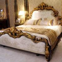 Buy cheap Luxury Italian Classic Style Bedroom Furniture Design For Royal Home And Villa 0063 from wholesalers