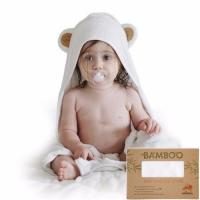 Buy cheap organic bamboo baby hooded towels from wholesalers