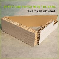 Buy cheap Honeycomb buffer lining Honeycomb paperboard cushioning material from wholesalers