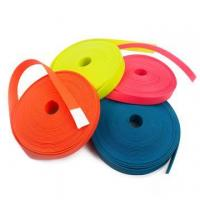 Buy cheap Colorful PVC Waterproof Plastic Coated Nylon Webbing Straps from wholesalers
