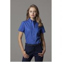 Buy cheap Clothing Women's corporate Oxford blouse short sleeved from wholesalers