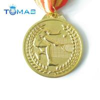 Buy cheap Metal gifts supplier custom zinc alloy sport metal medal from wholesalers