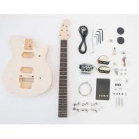 Buy cheap 3 Pickup Sg Style Unfinished Electric Guitar Kits from wholesalers