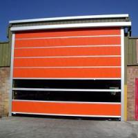 Buy cheap Automatic Durable Fold Up High Speed Door from wholesalers
