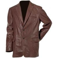 Buy cheap Leather Fashion Men Long Coats SS-1104 from wholesalers