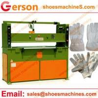 Buy cheap Leather cutting machine Lambskin leather glove die cutting machine from wholesalers