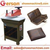 Buy cheap Leather cutting machine Genuine Leather Key Holder cutting machine from wholesalers
