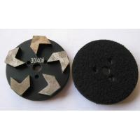 Buy cheap STONEKOR Velcro 3-Hole 3 inch 83mm 5 Arrow Seg Metal Grinding Puck from wholesalers