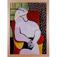 Buy cheap EHMAC Porcelain Wall Art Reproduction of Picasso Young Mothe from wholesalers