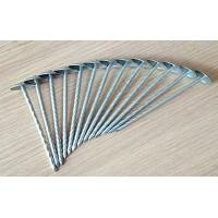 Buy cheap Umbrella head roofing nails twisted shank from wholesalers
