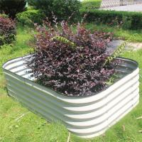 Buy cheap Hot Dipped Galvanized Metal Large Garden Bed from wholesalers