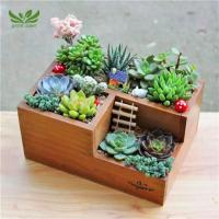 Buy cheap Small Multi-functional Desktop Plant Pots from wholesalers