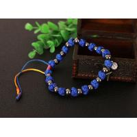 Buy cheap 8mm knotted rope rosary bracelet from wholesalers
