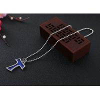 Buy cheap Alloy epoxy pendant cross necklace from wholesalers