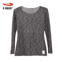 Buy cheap Heather Grey Long Sleeve T Shirt from wholesalers