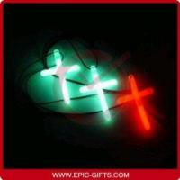 Buy cheap Glow in the Dark Glow Stick Cross Necklace from wholesalers