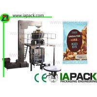 Buy cheap bag packing machine flat bottom bag commercial food packaging equipment 5.5kw intermittent from wholesalers