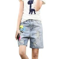 Buy cheap Apparel Summer Tide Women Girls Ripped Denim Shorts Jeans, M from wholesalers