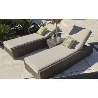 Buy cheap PAL-1127 Only Sell to US Outdoor Rattan Garden Beach Sun Lounger from wholesalers