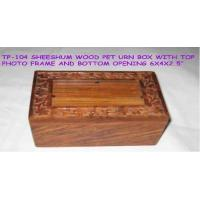 Buy cheap Carved Wooden Pet Urns from wholesalers