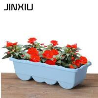 Buy cheap artificial potted flower large garden pottery grow box from wholesalers