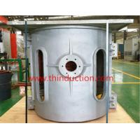 Buy cheap 1T 2T 3T cast iron steel scrap melting induction furnace from wholesalers