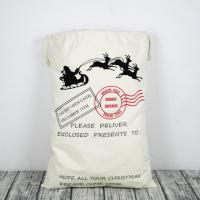 Buy cheap Christmas Personalized Canvas Gifts Bag from wholesalers