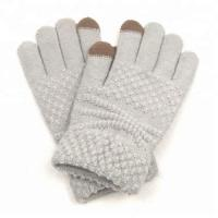 Buy cheap Knitting Winter Gloves Fashion Touch Screen Gloves from wholesalers