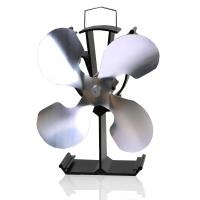 Buy cheap Heat Powered Stove fan wood burning stove fan-4 blade in nickle from wholesalers