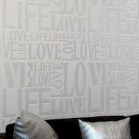 Buy cheap Wallpaper With Love Non - Woven Background from wholesalers