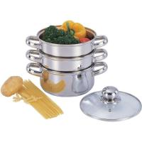 Buy cheap pastapot 3 Tiers Steamer Set from wholesalers