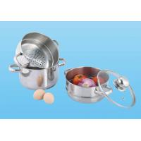 Buy cheap Stainless Steel 3-Tier Steamer,Polishing from wholesalers