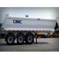 Buy cheap U shape Tipping Trailer Hydraulic Rear End Dump Semi Trailer from wholesalers