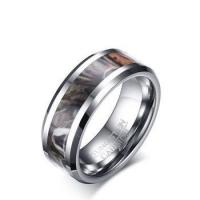 Buy cheap 8mm tungsten camo wedding rings for men from wholesalers