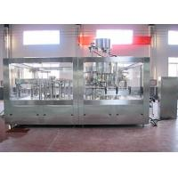 Buy cheap Carbonated drink glass bottle filling machine from wholesalers