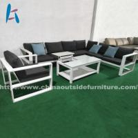 Buy cheap Outdoor Sofa Garden Modern Aluminum Sofa And Lift-top Coffee Table from wholesalers