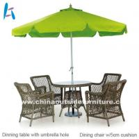 Buy cheap Outdoor Dining Outdoor Dining Sets With Umbrella from wholesalers