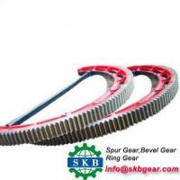 Buy cheap High quality automobile bevel helical ring metal gear wheel from wholesalers