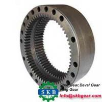 Buy cheap Excavator drive pinion gear inner drive pinion gear excavator gear ring from wholesalers