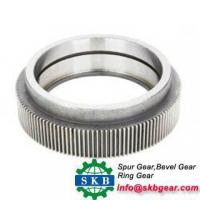 Buy cheap steel flangeball mill pinion gear ring gear spares product