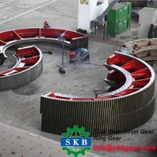 Quality Alloy Steel Large Gear Ring for sale