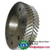 Buy cheap swing ring gear excavator spare parts product