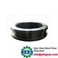 Buy cheap cast iron large diameter ring gear on grinding mill machine product