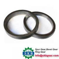 Buy cheap excavator external geared slewing ring bearing internal outer gear slewing ring from wholesalers