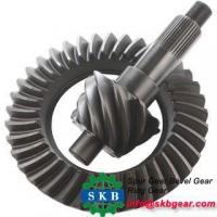Buy cheap Custom Different Dimensions Hypoid Spiral Bevel Gears from wholesalers