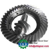 Buy cheap Big Metal Helical Straight Right Angle 05 Module 90 Degree Spur Bevel Gear from wholesalers