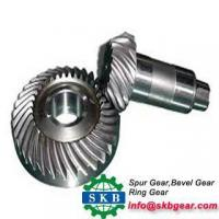 Buy cheap Tractor in Front Drive Auto Axle Gear Spiral Bevel Gear from wholesalers
